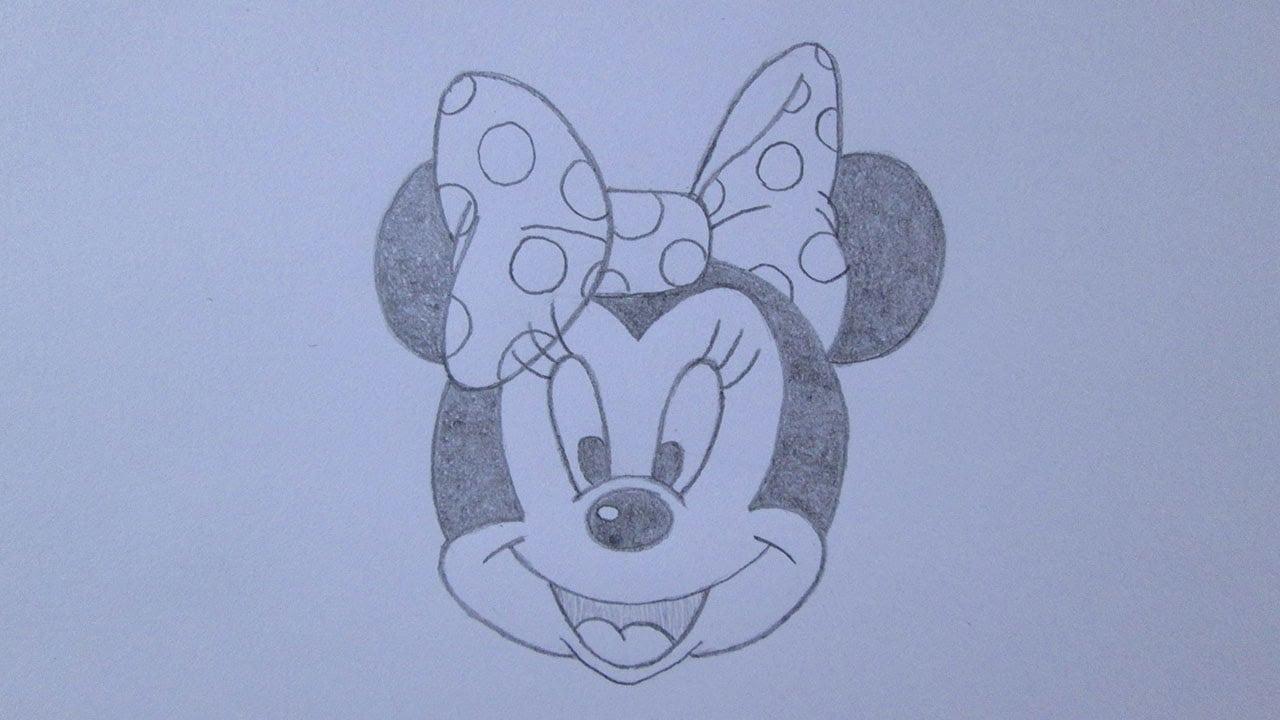 Como Desenhar A Minnie Mouse