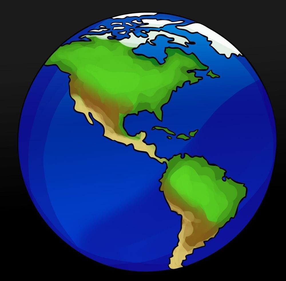 Como Desenhar Um Desenho Do Planeta Terra (muito Fácil)
