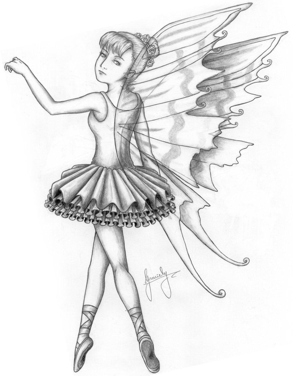 Desenho Da Bailarina