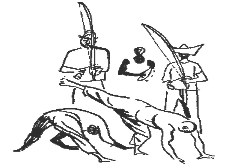 Desenho De Capoeira E O Cantador Para Colorir