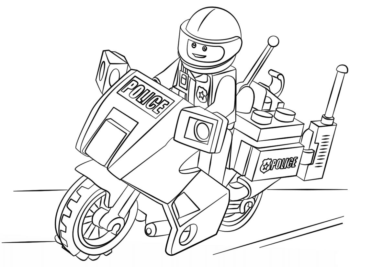 Desenhos De Lego Para Colorir