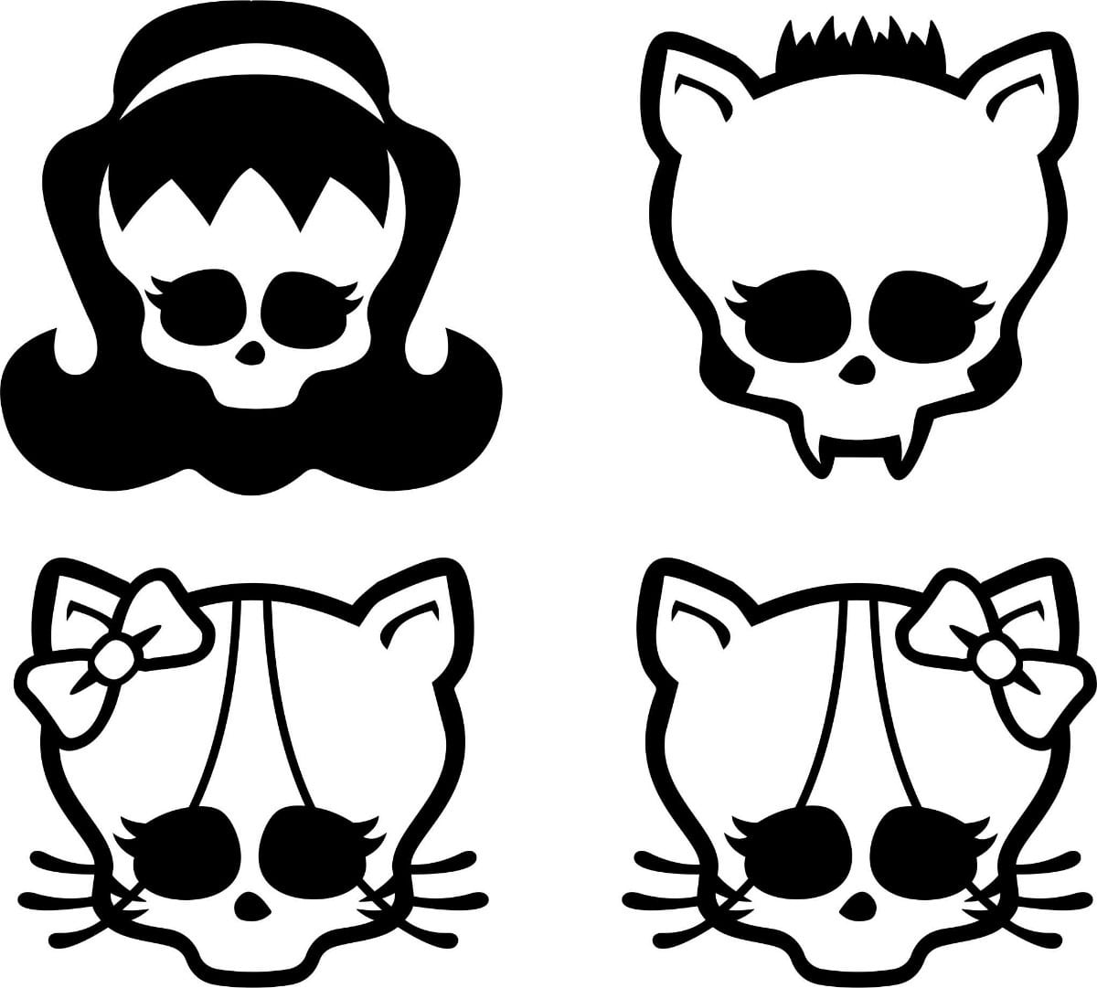 Desenhos Para Colorir Da Monster High (top 30)