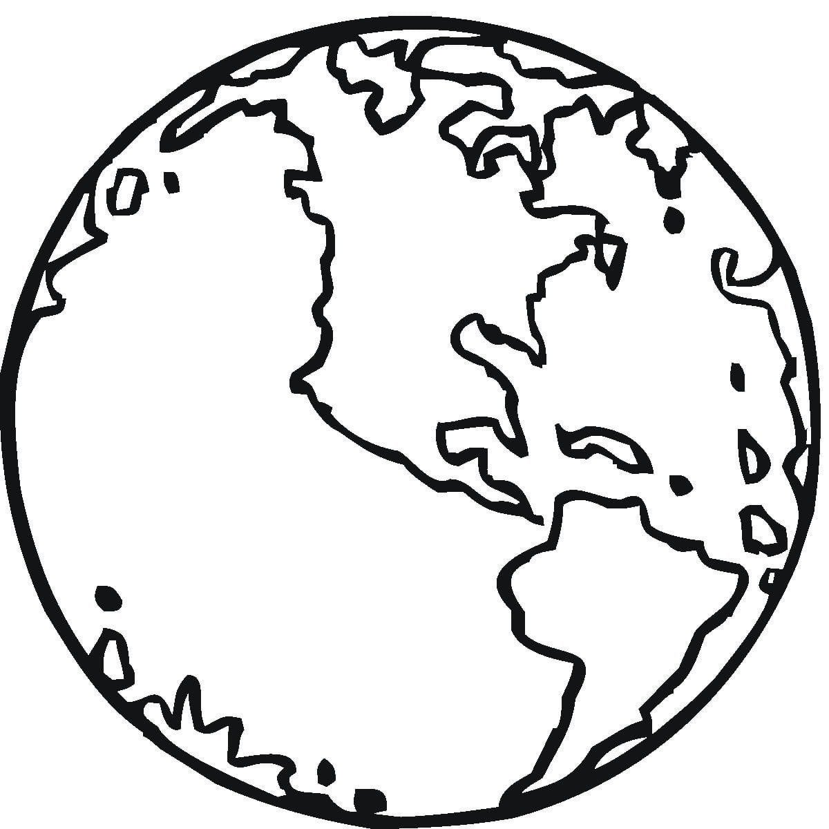 Desenhos Para Pintar De Planetas  Desenhos Para Colorir De Planetas