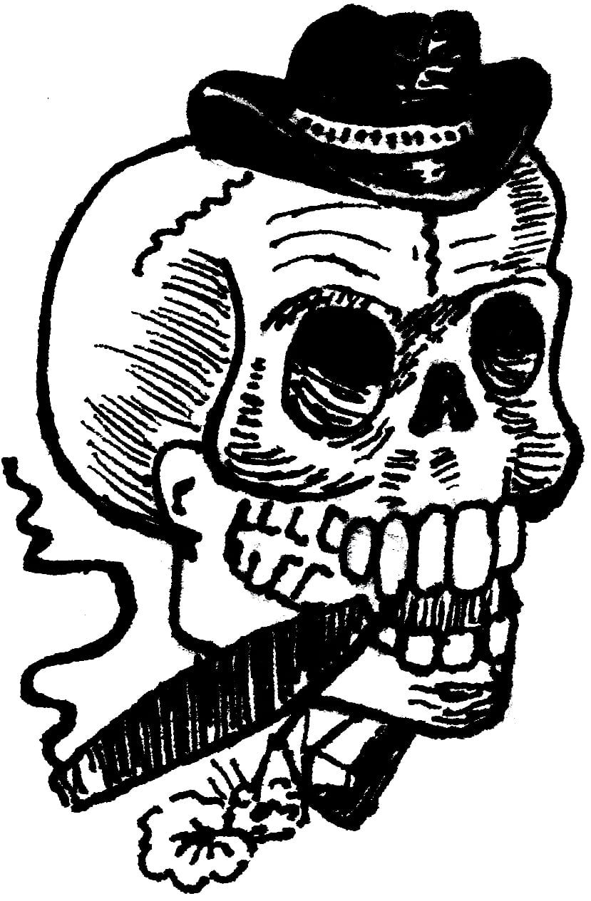 Desenhos Para Tattoos  Caveira ~ Dinho Tattoo