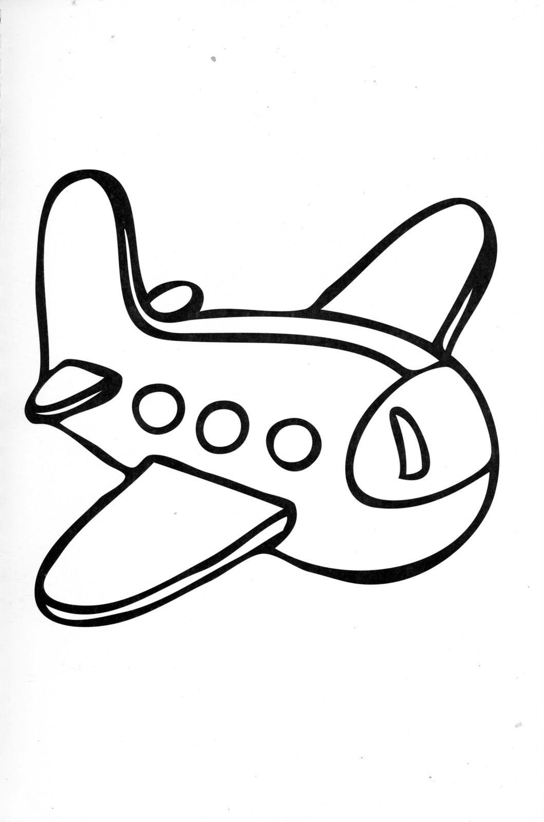 Dibujos Ideia Criativa  Meios De Transporte Pra Colorir