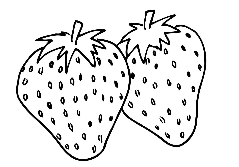 Imagens De Frutas Para Colorir