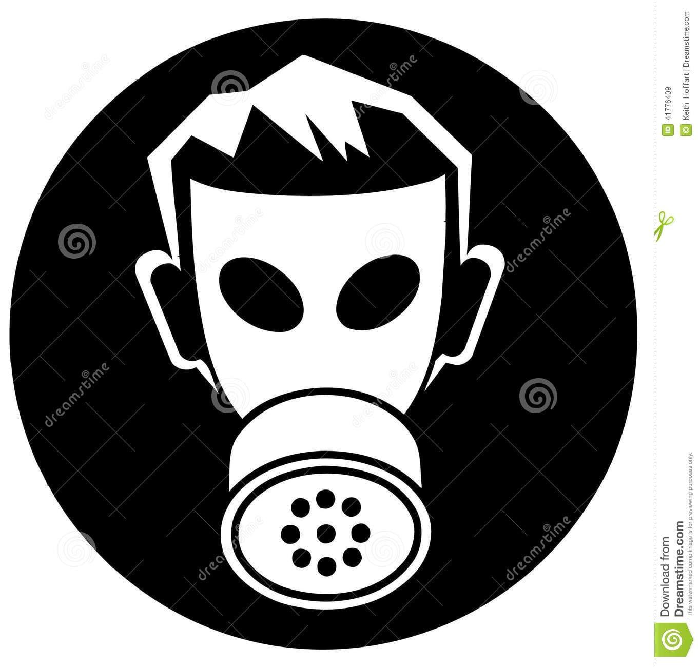 Vetor Clipart Dos Desenhos Animados Da Máscara Do Veneno