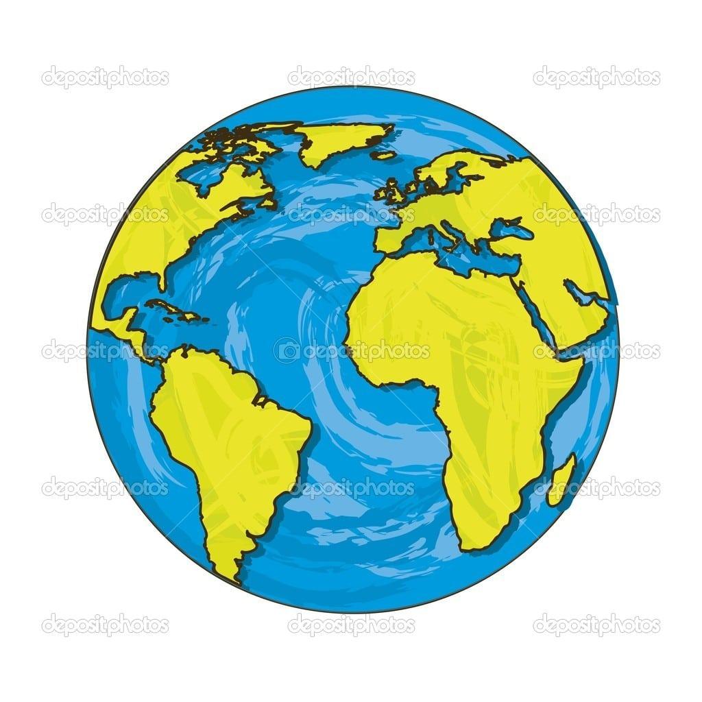 Vetor Do Planeta — Vetor De Stock © Yupiramos  12734777