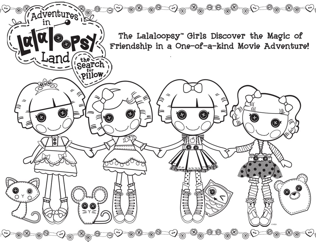 1000+ Images About Lalaloopsy Coloring Pages On Pinterest