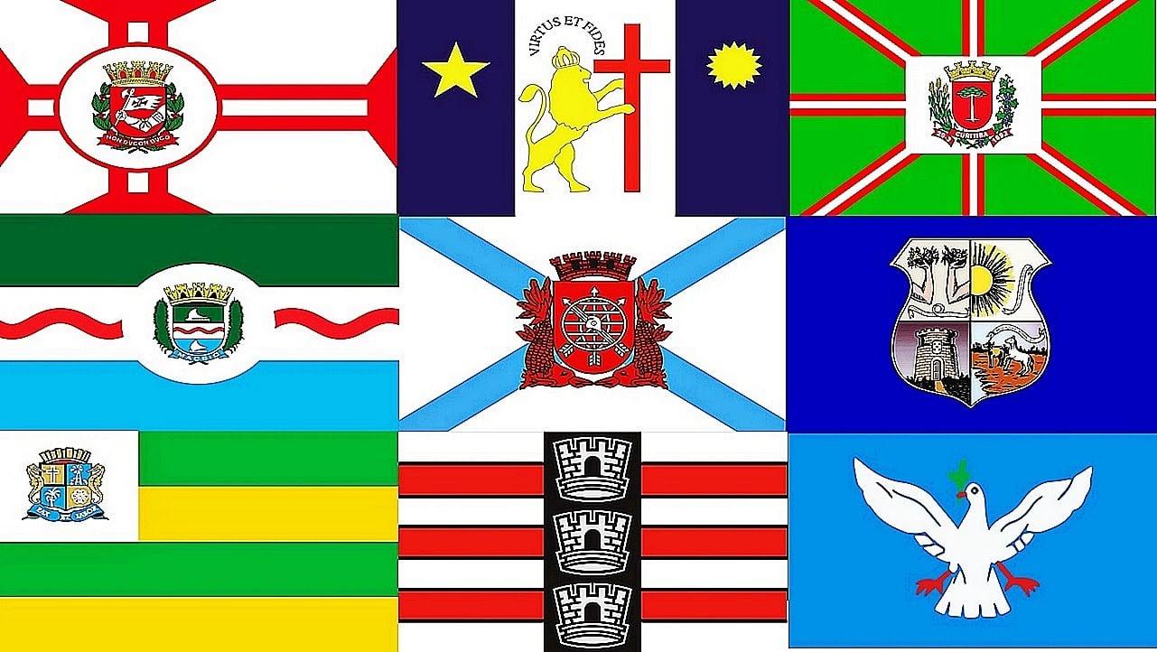 Bandeiras Das Capitas Dos Estados Brasileiros