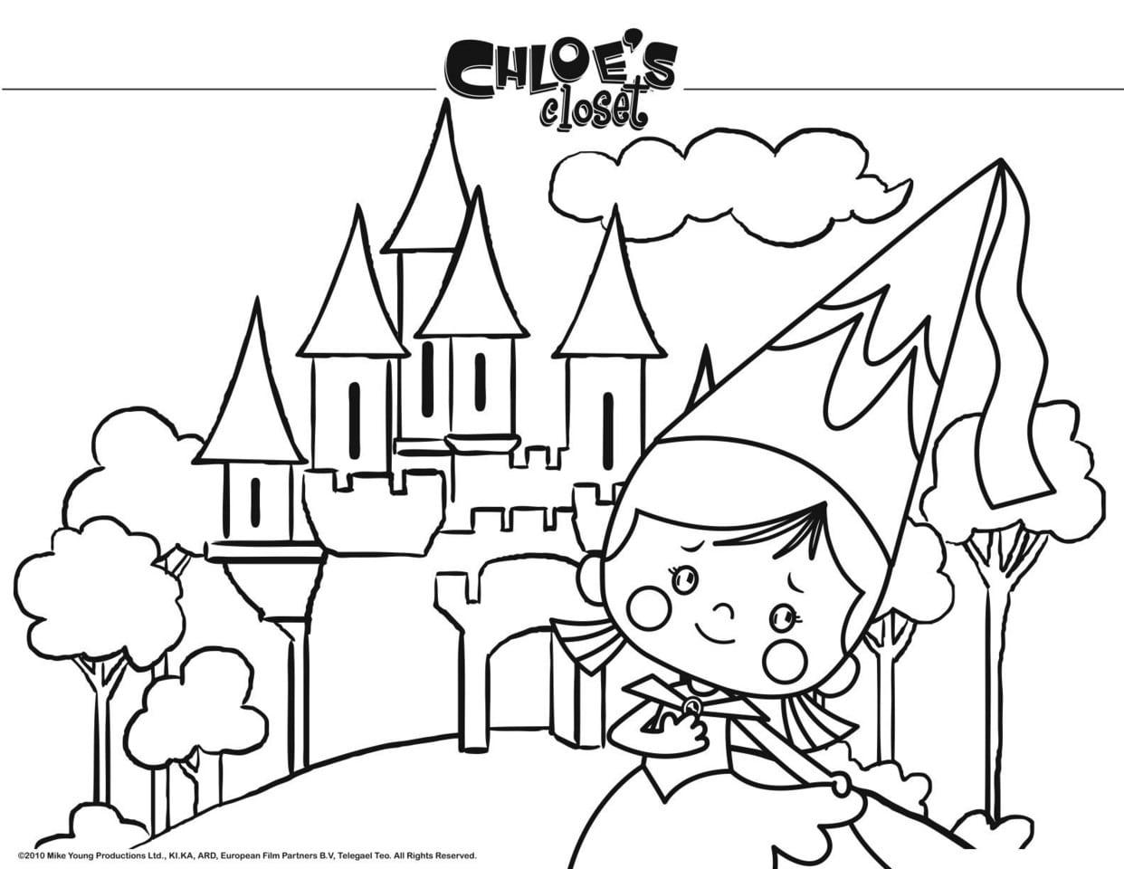 Desenho Animado Para Colorir