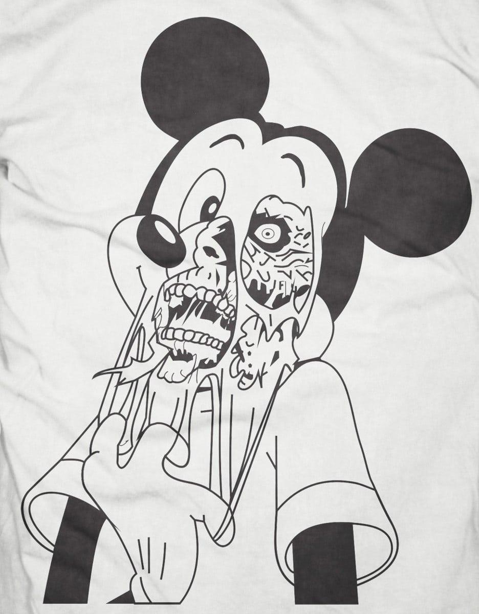 Camiseta Mickey Zumbi