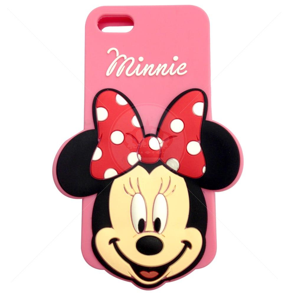 Capa Para Iphone 5c Rosto Minnie 3d