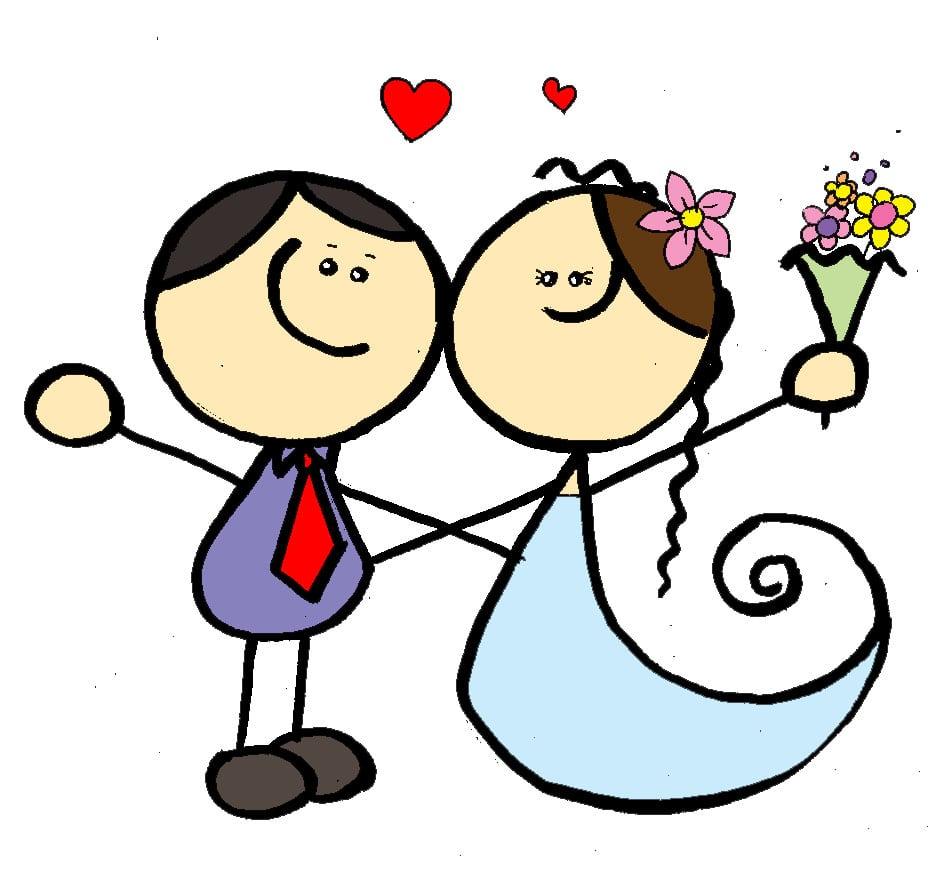 Casamento Em Desenho
