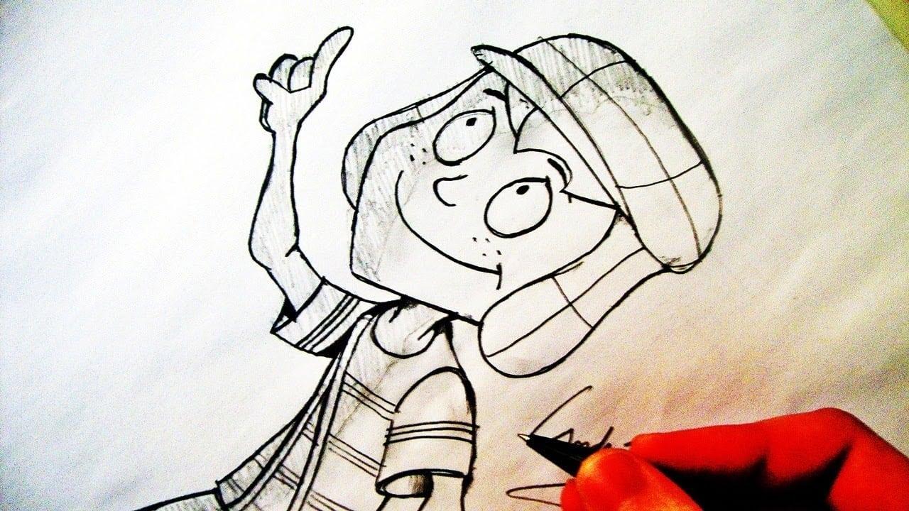 Como Desenhar O Chaves [cartoon]