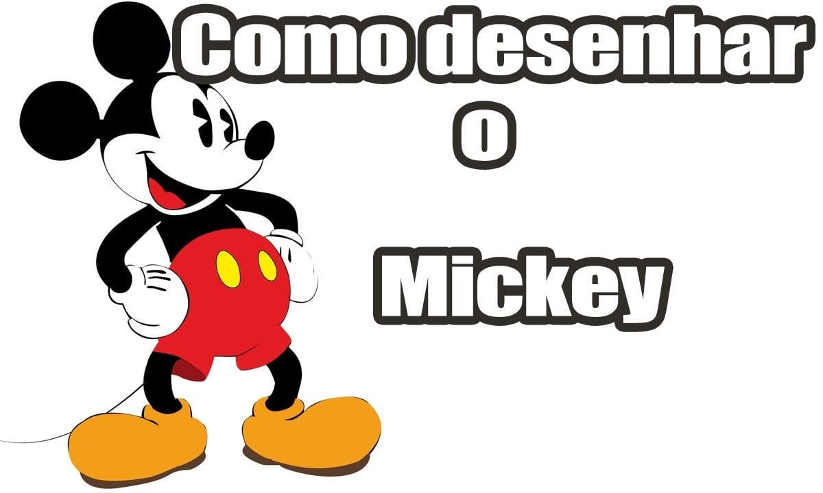 Como Desenhar O Mickey