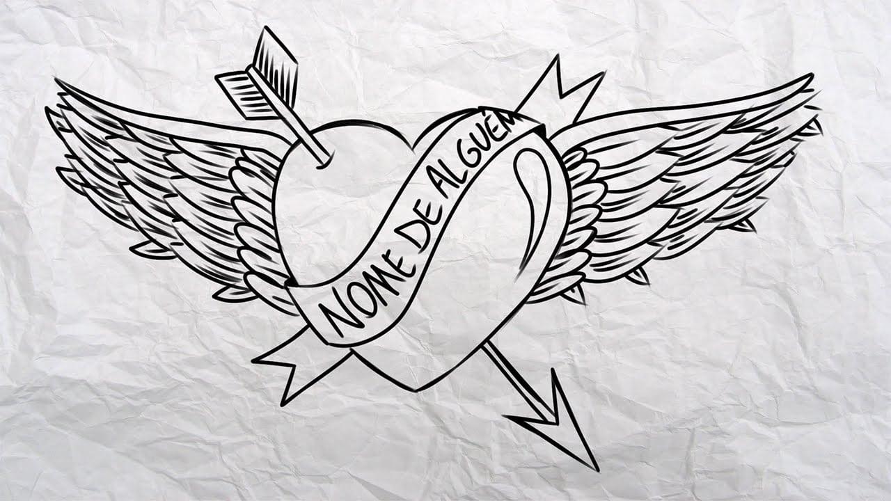 Colorir Imagens Coração Para Colorir: Desenhos De Coracao