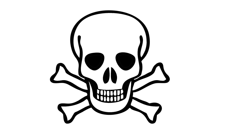 Como Desenhar Uma Caveira Pirata