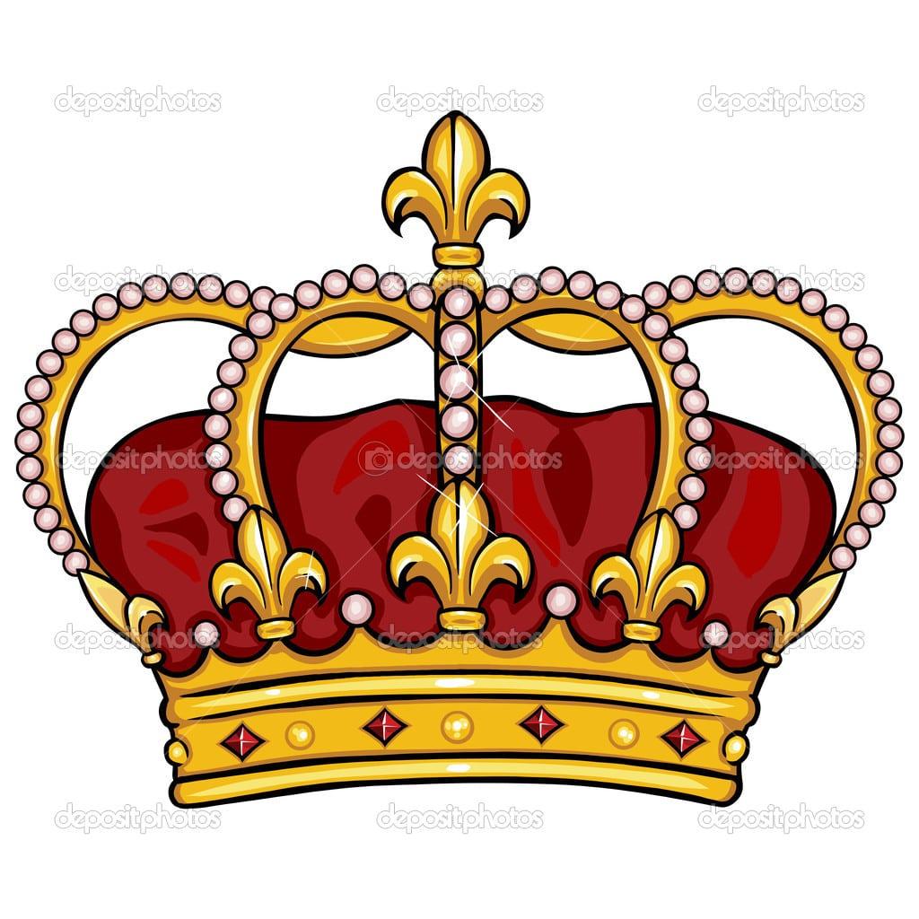 Coroa Real De Desenho De Vetor — Vetor De Stock © Nikiteev  32284831