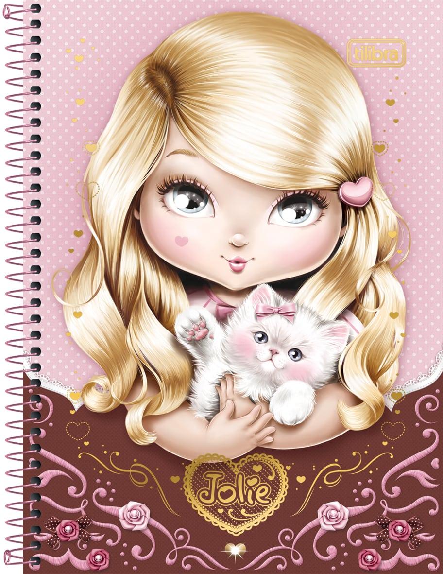 Desenhando Com Lápis  Jolie