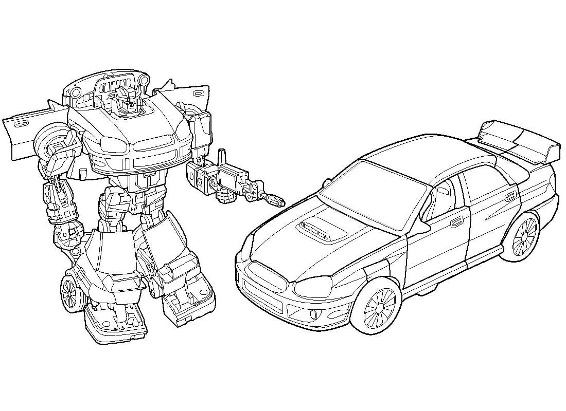 Desenho Dos Transformers Para Colorir