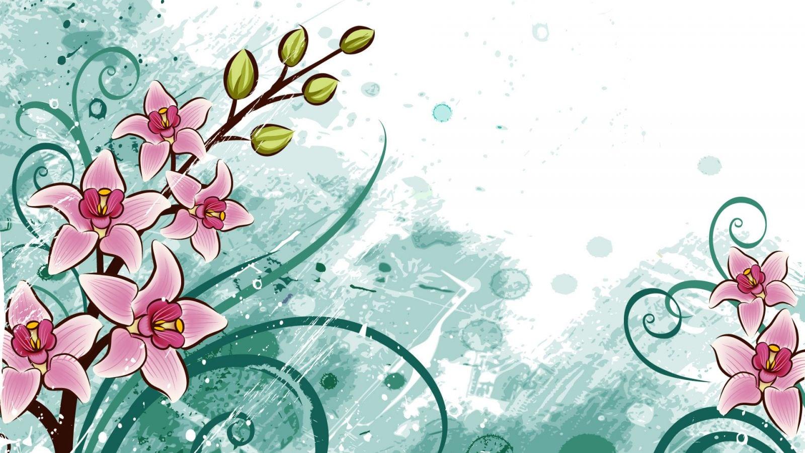 Desenhos Coloridos De Flores