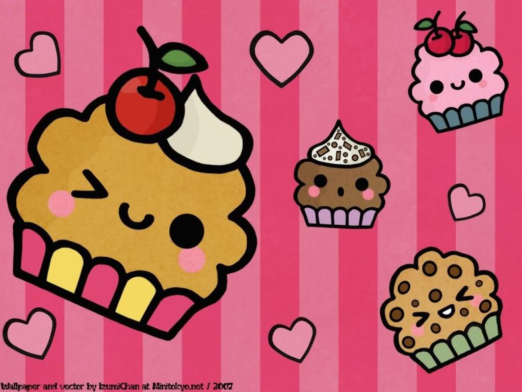 Desenhos De Cupcakes 4k Hd Wallpaper
