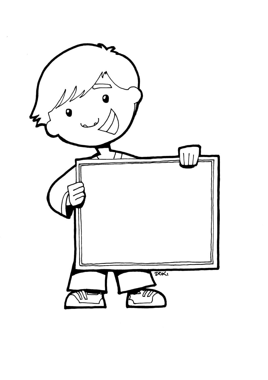Desenhos De Meninos Para Colorir