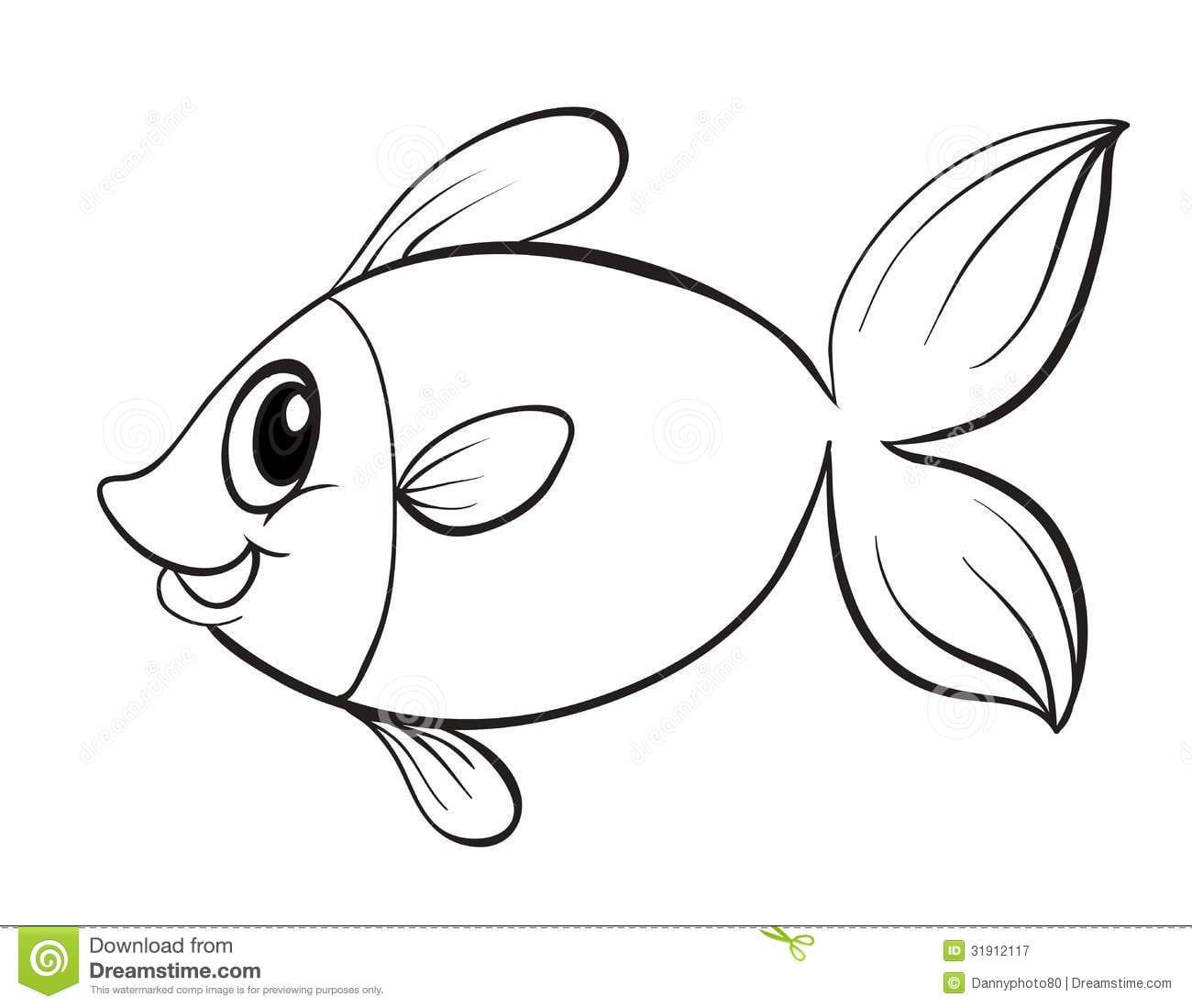Desenhos De Peixes Para Colorir Imagens Para Colorir