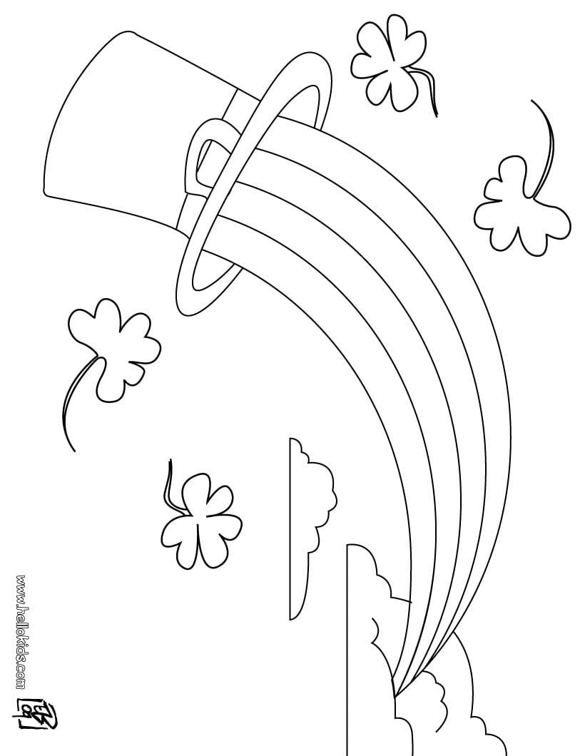 Desenhos Do Dia Do SÃo PatrÍcio Para Colorir
