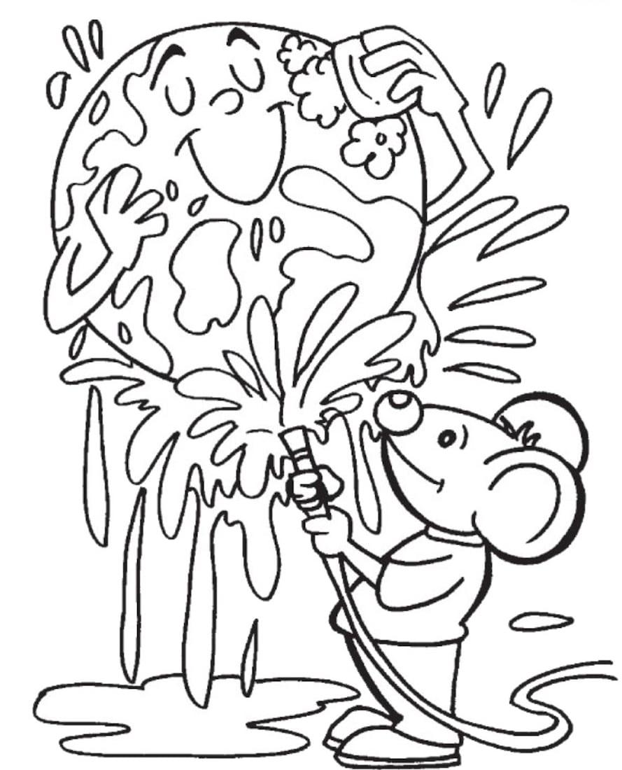 Desenhos Para Colorir Meio Ambiente