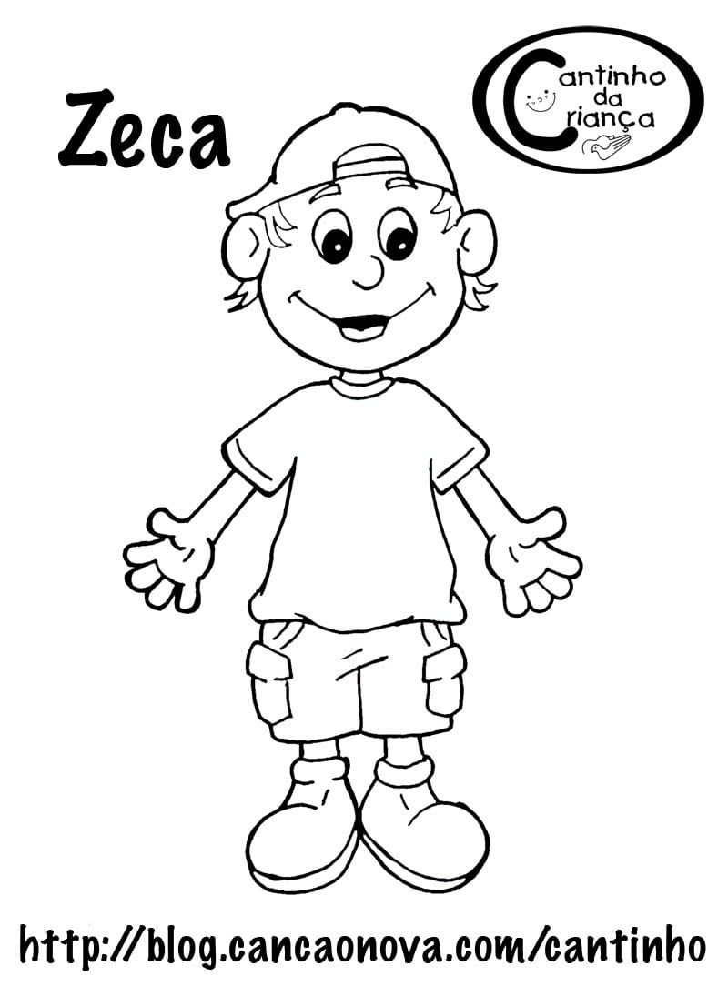 Desenhos Para Meninos Colorir
