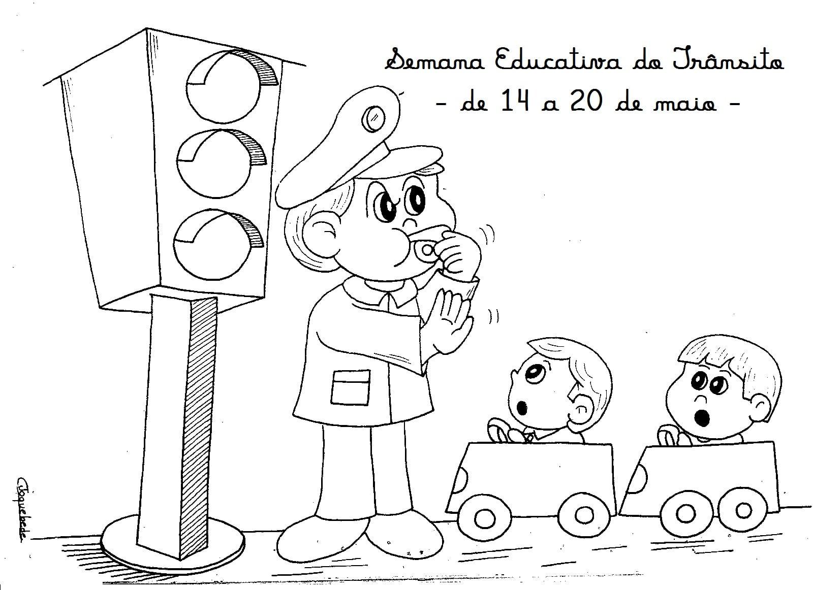 Escola Cristã Arca De Noé  Semana Educativa Do Trânsito