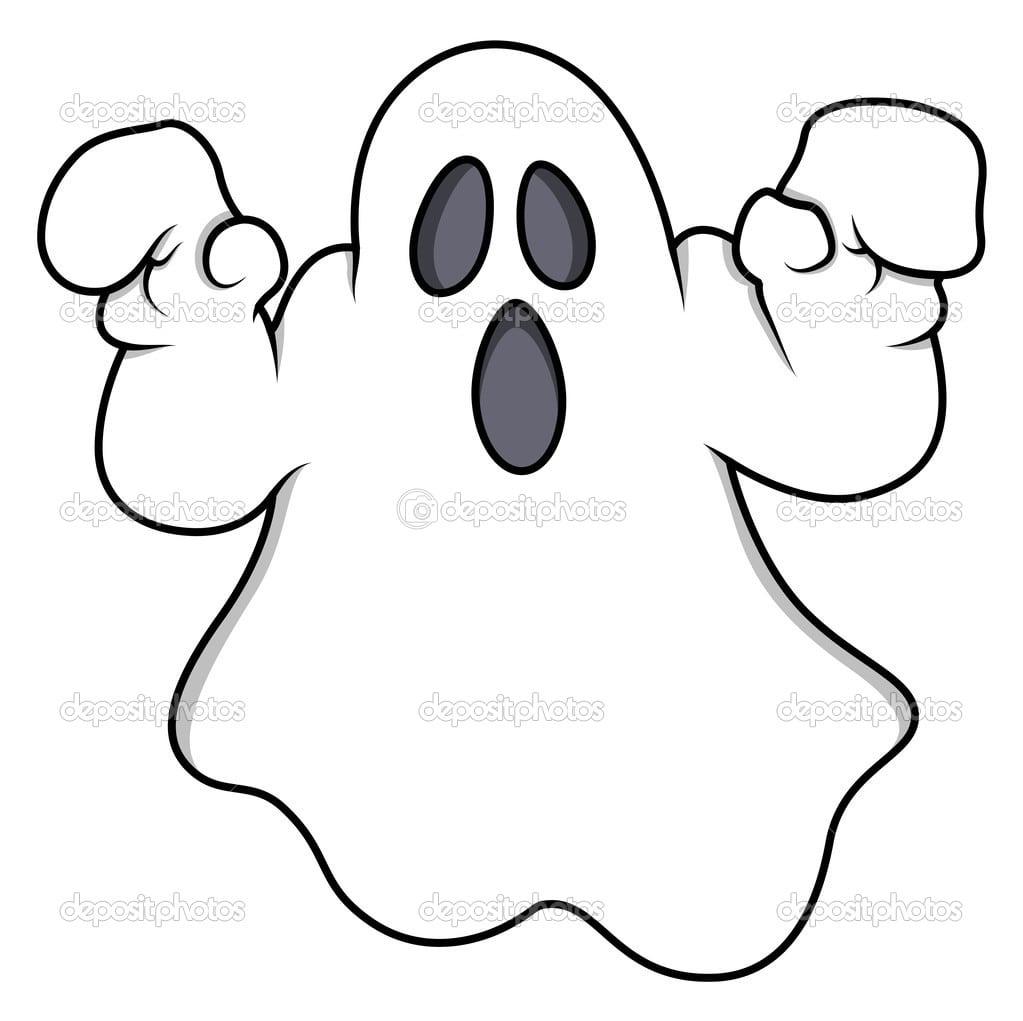 Fantasma Dos Desenhos Animados