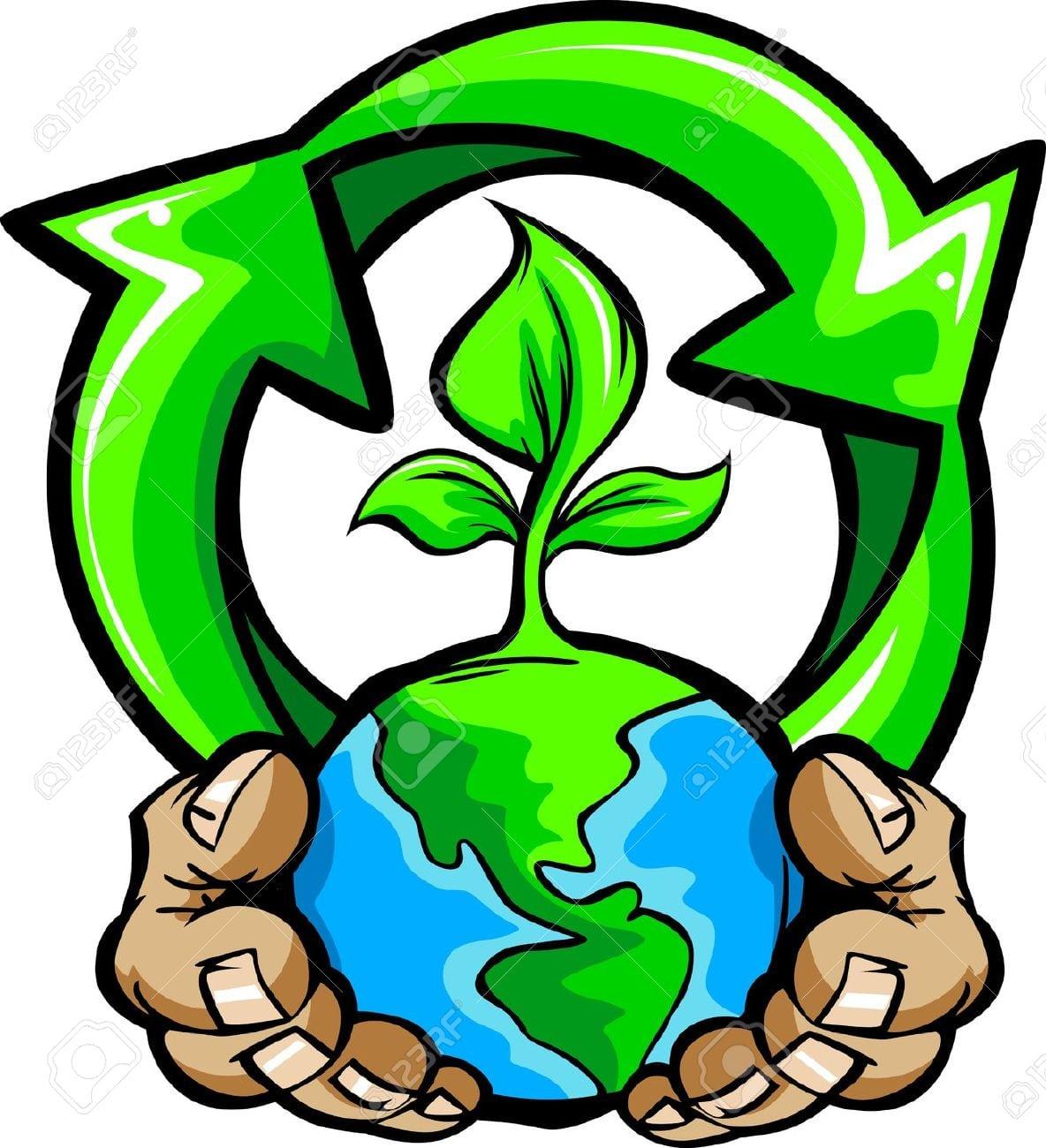 Imagem Dos Desenhos Animados De Mãos Segurando O Planeta Terra
