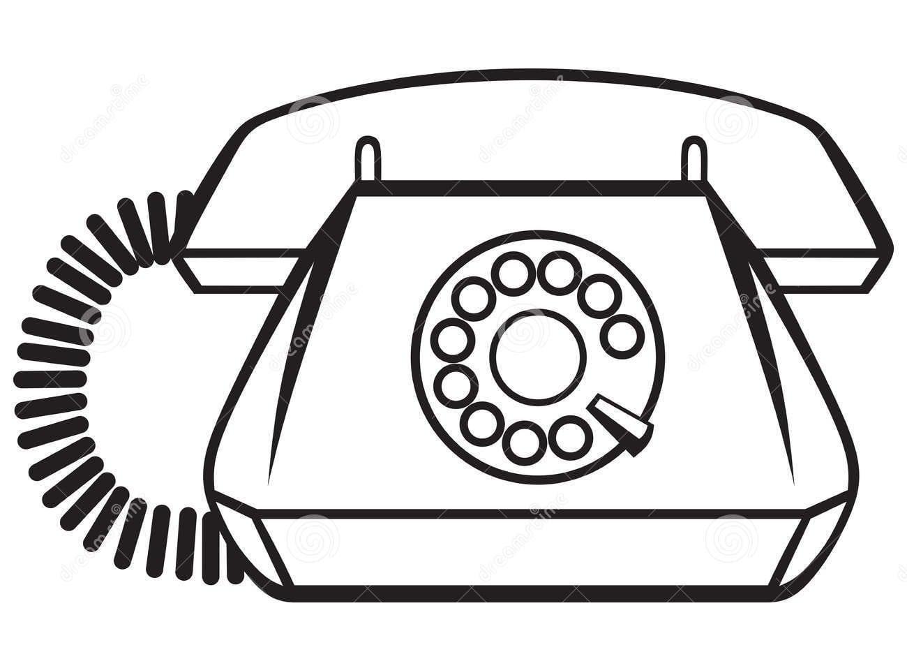Imagens De Telefones Antigos Para Imprimir E Colorir
