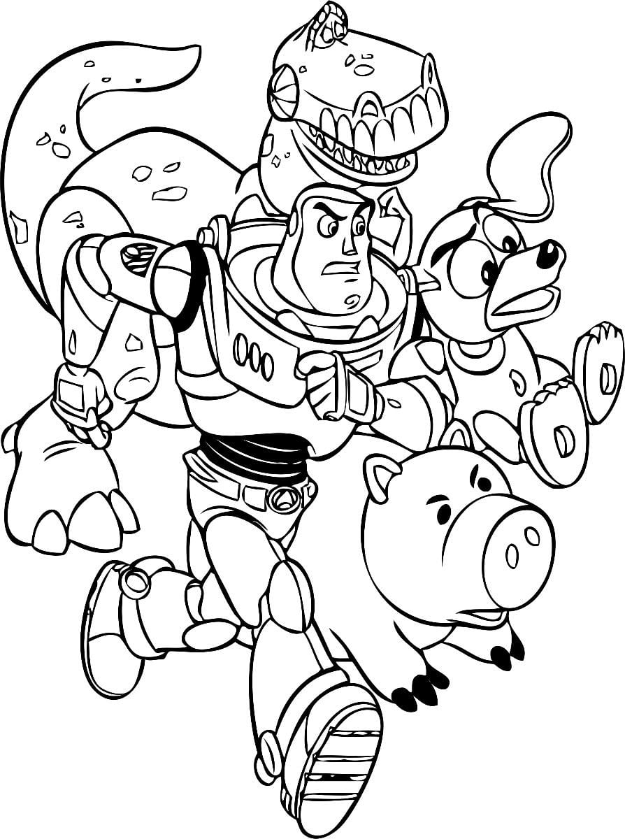 Imagens Toy Story Para Colorir