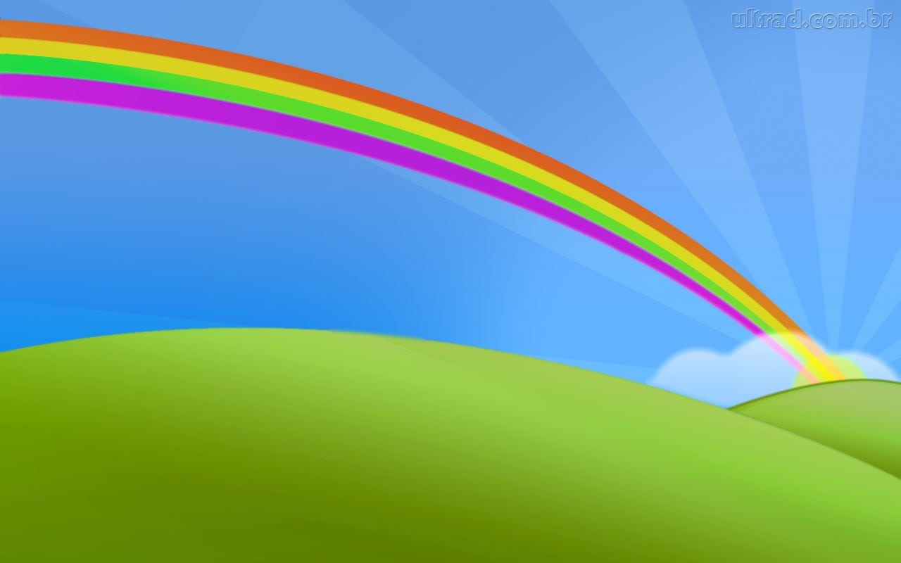 Desenho De Arco Iris
