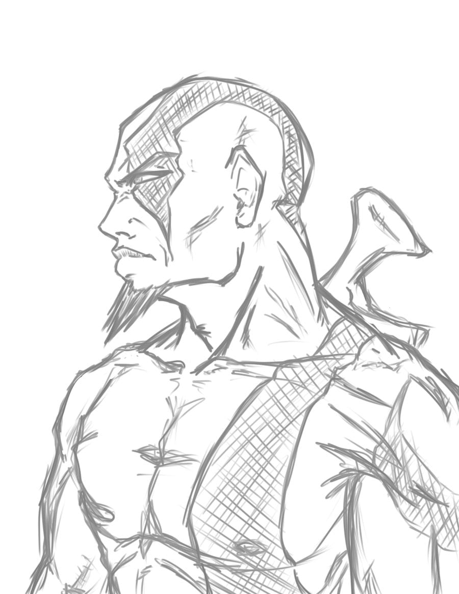 Kratos W I P By Phoenixiii On Deviantart