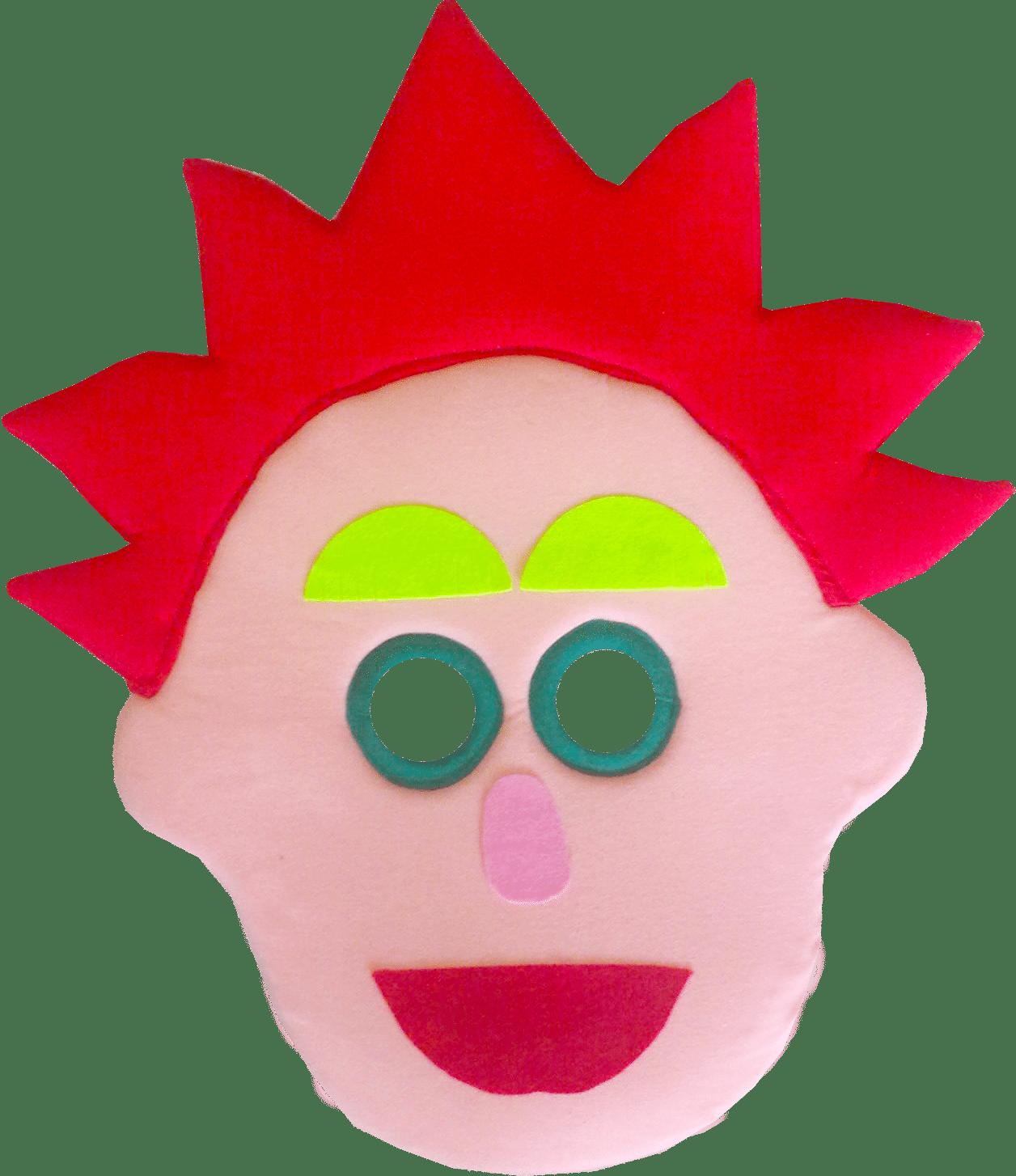 Mascara Folclore E Dona Baratinha   Curupira