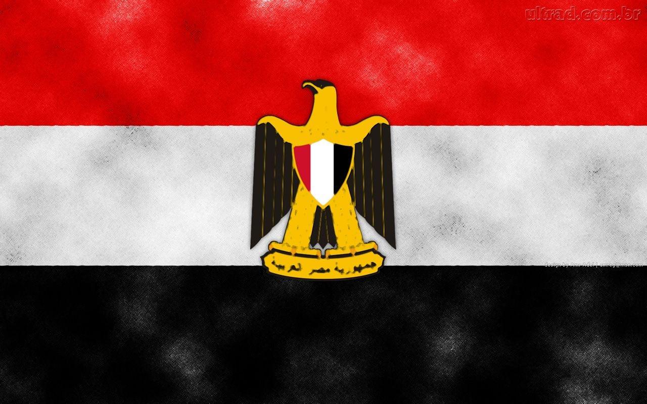 Papel De Parede Bandeira Do Egito