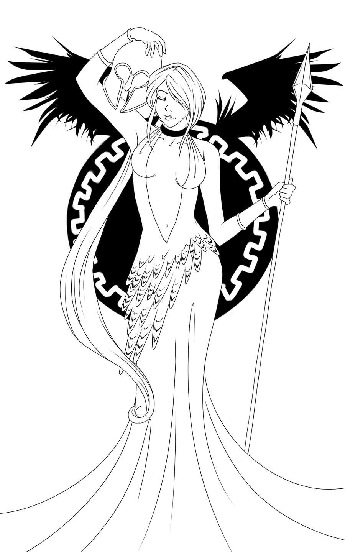 Penso Logo Digito  As Deusas Gregas De Miyu