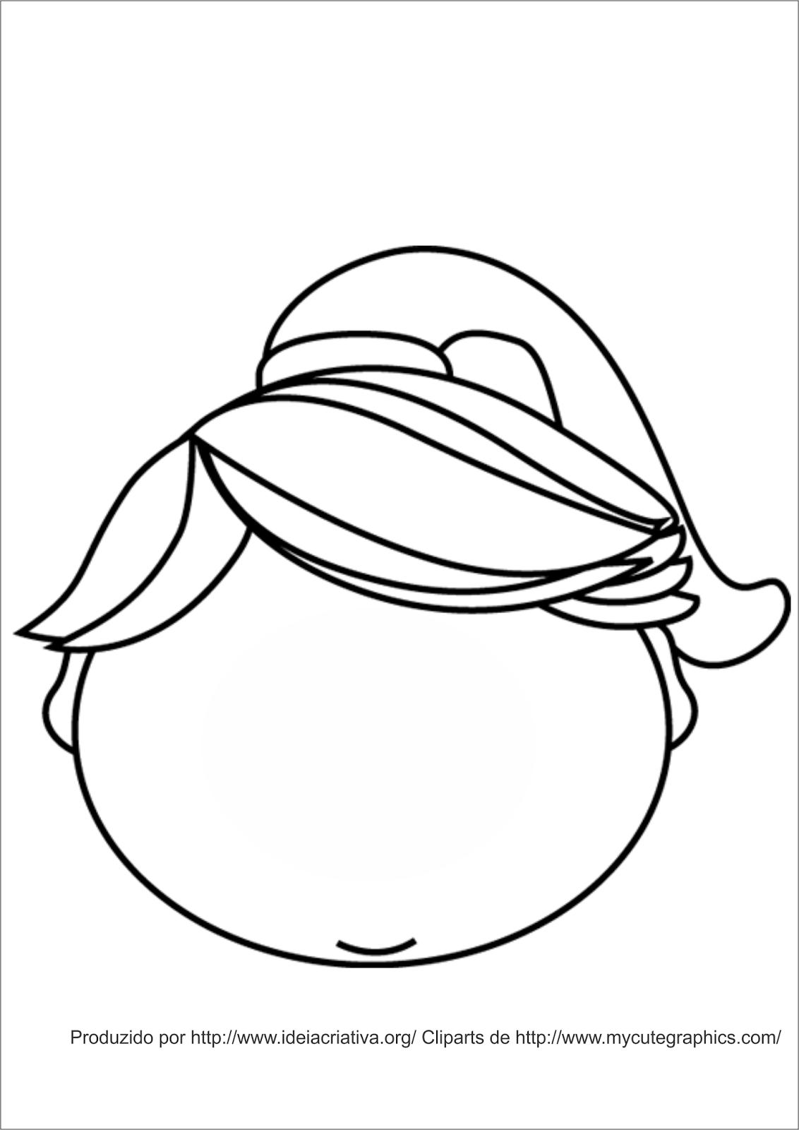 desenho de uma melancia para colorir