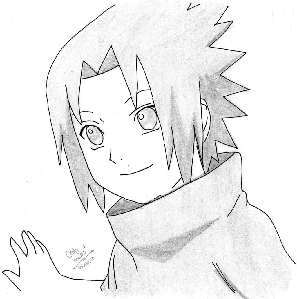Sasuke Uchiha By Reverienicole On Deviantart