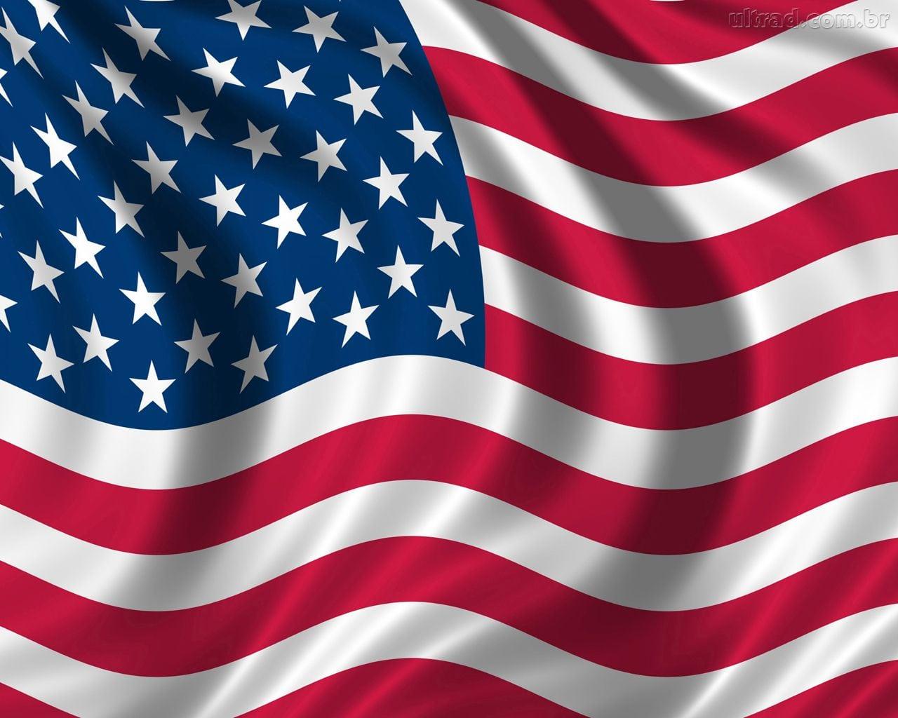 Simbolo Americano A Bandeira Dos Estados Unidos