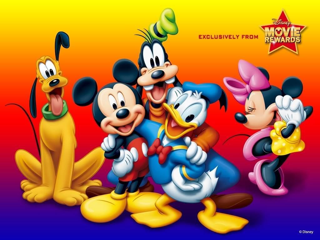 Up Desk Wallpapers  Turma Do Mickey
