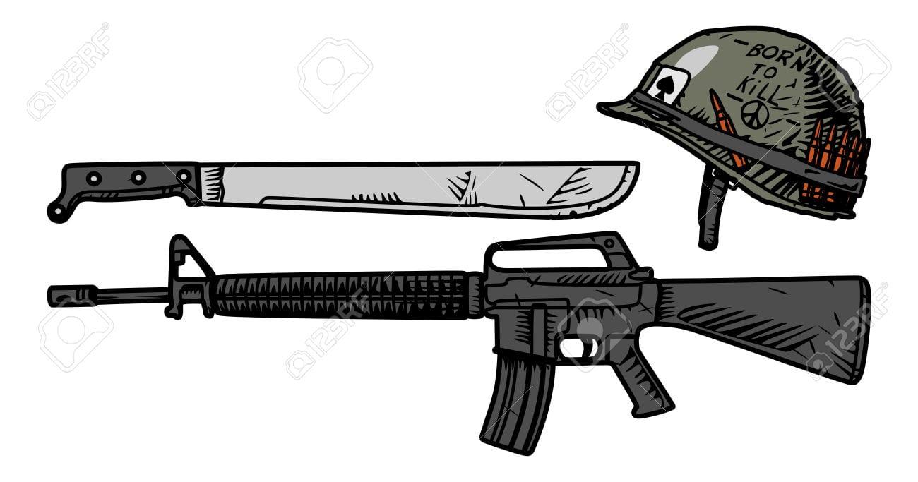 Vector O Desenho De Armas Norte