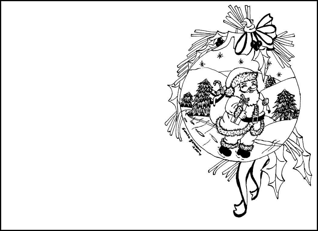 Desenhos De Natal Para Colorir  70 Modelos Para Imprimir Grátis!