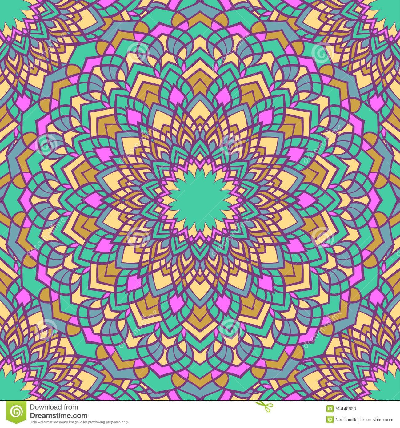 Fundo Abstrato Decorativo Colorido Brilhante Do Laço Do Mão