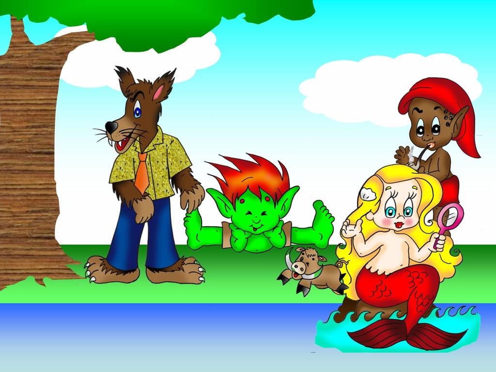Figuras Do Folclore  Lendas E Personagens